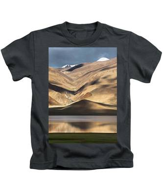 Golden Light Tso Moriri, Karzok, 2006 Kids T-Shirt