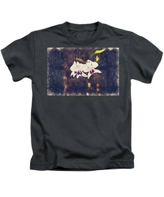 Hawaiian Tree Orchid Kids T-Shirt