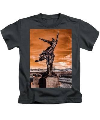 Louisiana Monument Kids T-Shirt