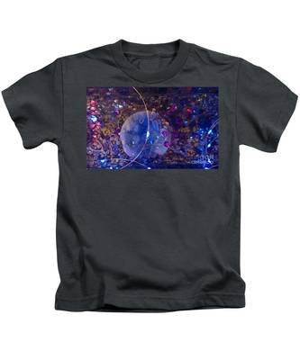Man In The Moon Kids T-Shirt