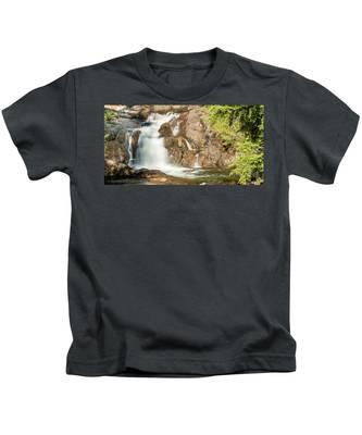 Paradise Falls-3 Kids T-Shirt