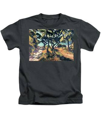 Path To Marmari Beach Loggos Kids T-Shirt