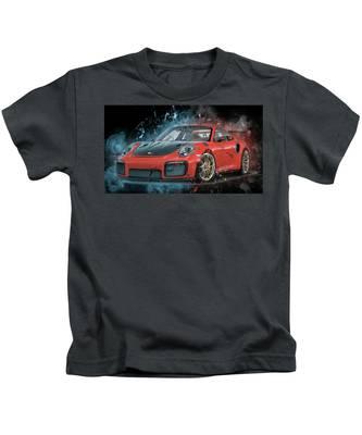 Porsche 911 Gt2 Kids T-Shirt