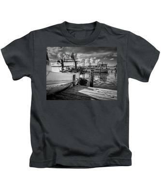 Ready To Go In Bw Kids T-Shirt