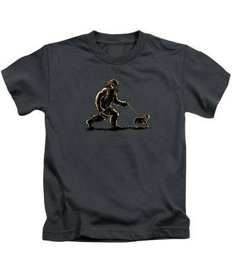 Walking Kids T-Shirts