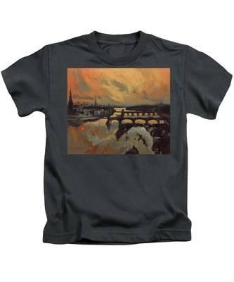 The Bridges Of Maastricht Kids T-Shirt