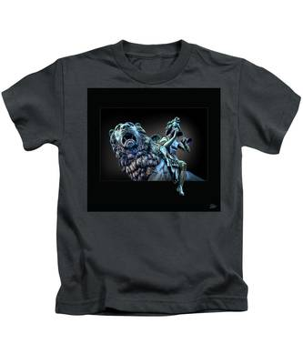 The Muse Kids T-Shirt by Endre Balogh