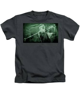 Tiger's On The Green Kids T-Shirt