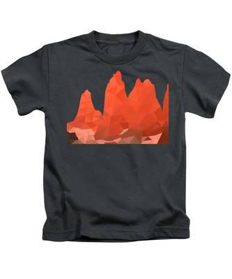 Torres Del Paine Kids T-Shirts