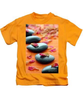 Meditation Zen Path Kids T-Shirt