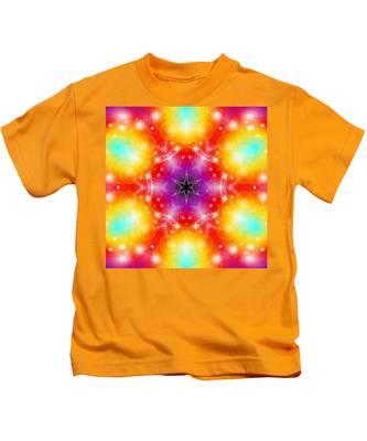 Kids T-Shirt featuring the digital art Mystic Karma by Derek Gedney