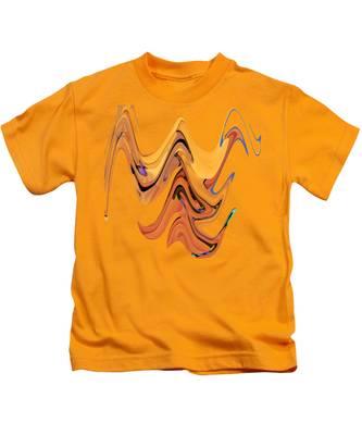 Birds Of Paradise Improvisation Kids T-Shirt