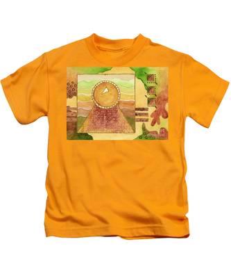 Earthtones Kids T-Shirts