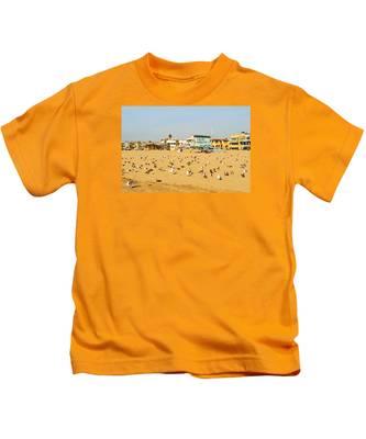 Gulls On Sand Kids T-Shirt