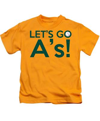 Let's Go A's Kids T-Shirt