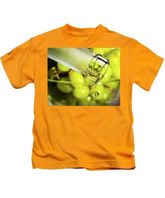 Pour Me Some Vino Kids T-Shirt