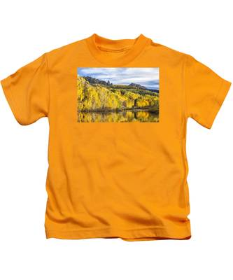 Reflection With Ophir Needles II Kids T-Shirt