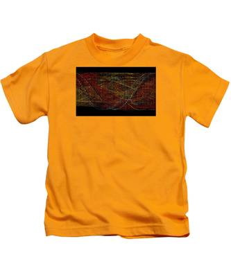 Abstract Visuals - Wavelengths Kids T-Shirt