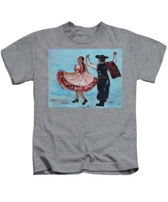Argentinian Folk Dance Kids T-Shirt