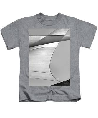 Sailcloth Abstract Number 4 Kids T-Shirt