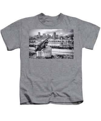Baltimore Inner Harbor Skyline Kids T-Shirt