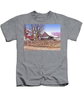 Cows At Jenne Farm Kids T-Shirt