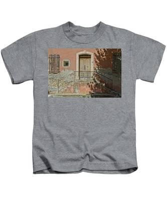 Door And Shadow Kids T-Shirt