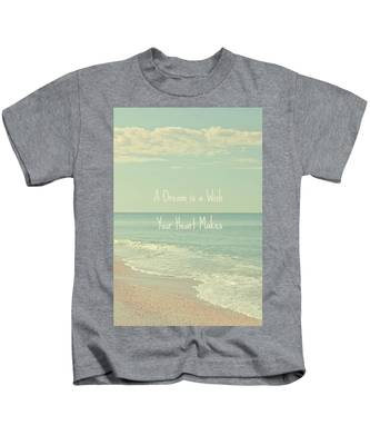 Dreams And Wishes Kids T-Shirt