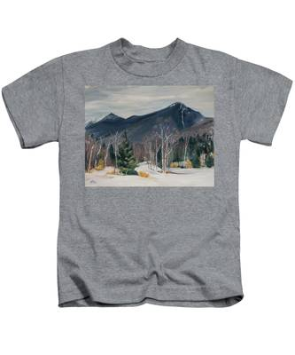 Liberty In Franconia Range Kids T-Shirt