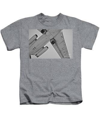 Kids T-Shirt featuring the photograph Marines In Flight by Bridgette Gomes
