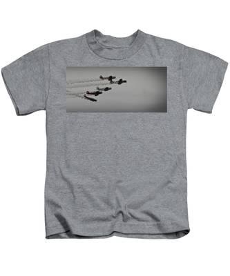 Norteast Raiders At The Greenwood Lake Airshow 2012 Kids T-Shirt
