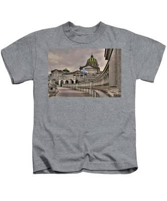 Pennsylvania State Capital Kids T-Shirt
