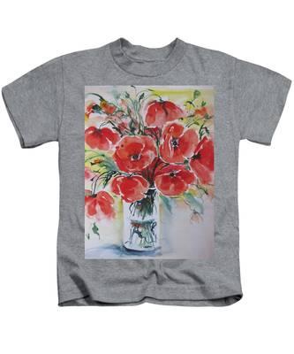 Poppies Iv Kids T-Shirt
