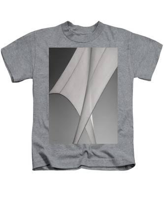 Sailcloth Abstract Number 3 Kids T-Shirt