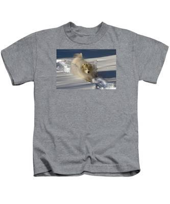 Snowplow Kids T-Shirt