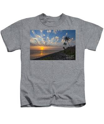 Sunset At Alibag, Alibag, 2007 Kids T-Shirt