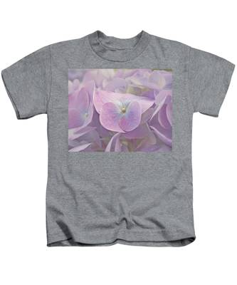 Symphony In Purple Kids T-Shirt