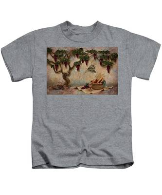The Bread And The Vine Kids T-Shirt