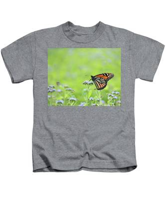 Monarch And Mist Kids T-Shirt