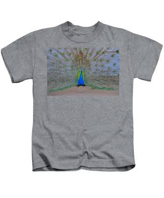 Kids T-Shirt featuring the photograph Pretty Boy by Bridgette Gomes