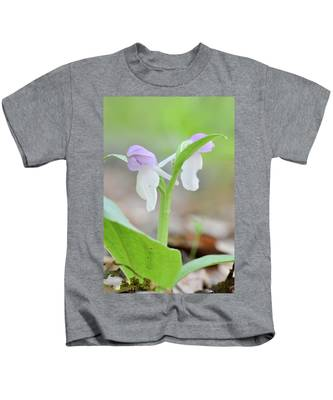 Showy Orchis Kids T-Shirt