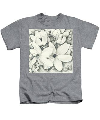 Flowers Pencil Kids T-Shirt