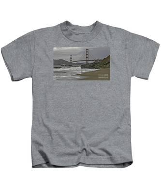 Golden Gate Study #1 Kids T-Shirt