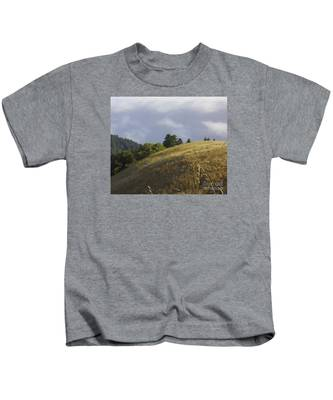 Mt. Tamalpais Study #1 Kids T-Shirt