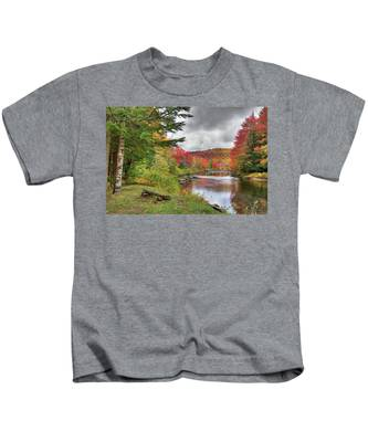 A Place To View Autumn Kids T-Shirt