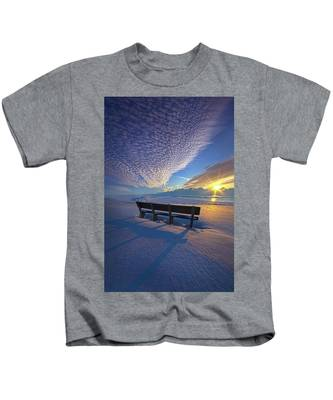 A Whole World In Front Of Us Kids T-Shirt
