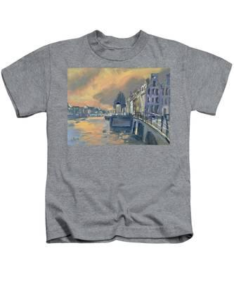 Amsterdm Morning Light Amstel Kids T-Shirt