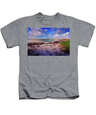 Anna Maria City Pier Kids T-Shirt