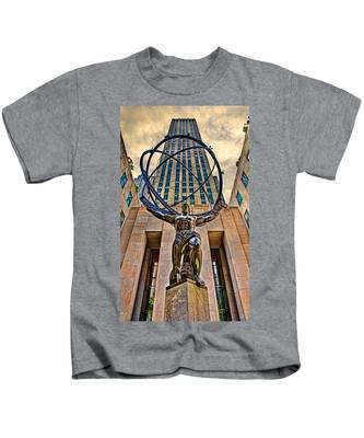 Atlas At The Rock Kids T-Shirt