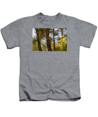 Autumn Abstract Kids T-Shirt